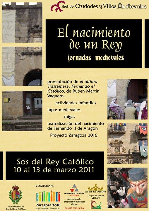 cartel actividades marzo 2011 Sos del Rey Catolico