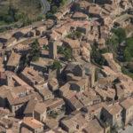 Zona del castillo y Plaza de la villa de Sos del Rey Católico